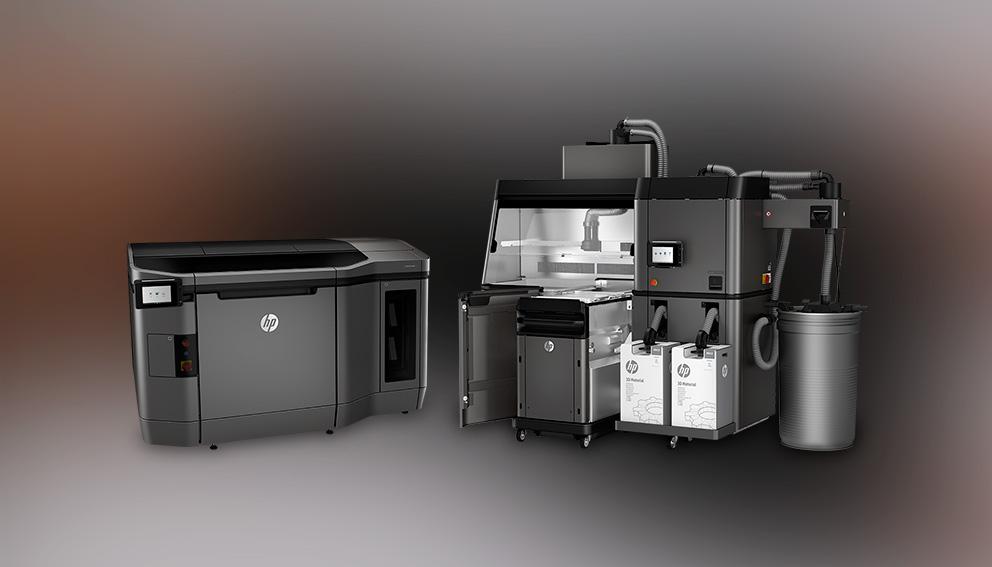 Impresoras 3D HP fondo