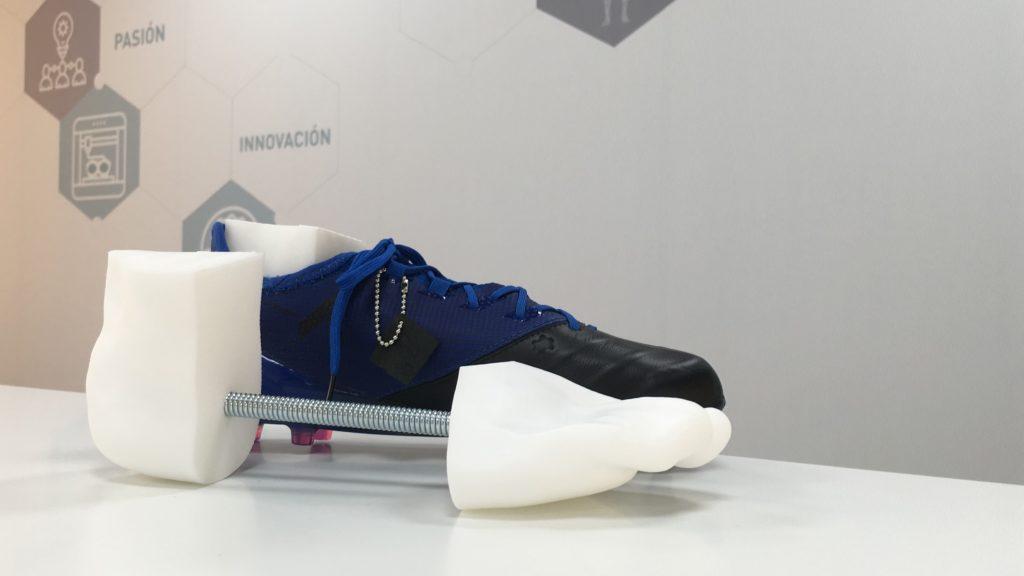 Hormas personalizadas para botas de fútbol. Consigue adaptar tu bota al pie de una forma rápida y sencilla.
