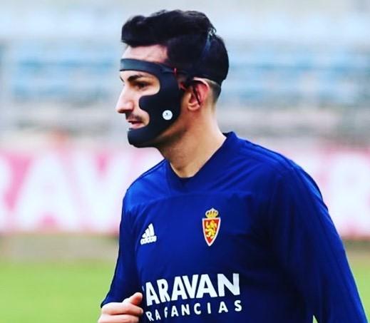 """Alejandro Muñoz: """"La máscara maxilofacial me dio mucha seguridad en el campo"""""""
