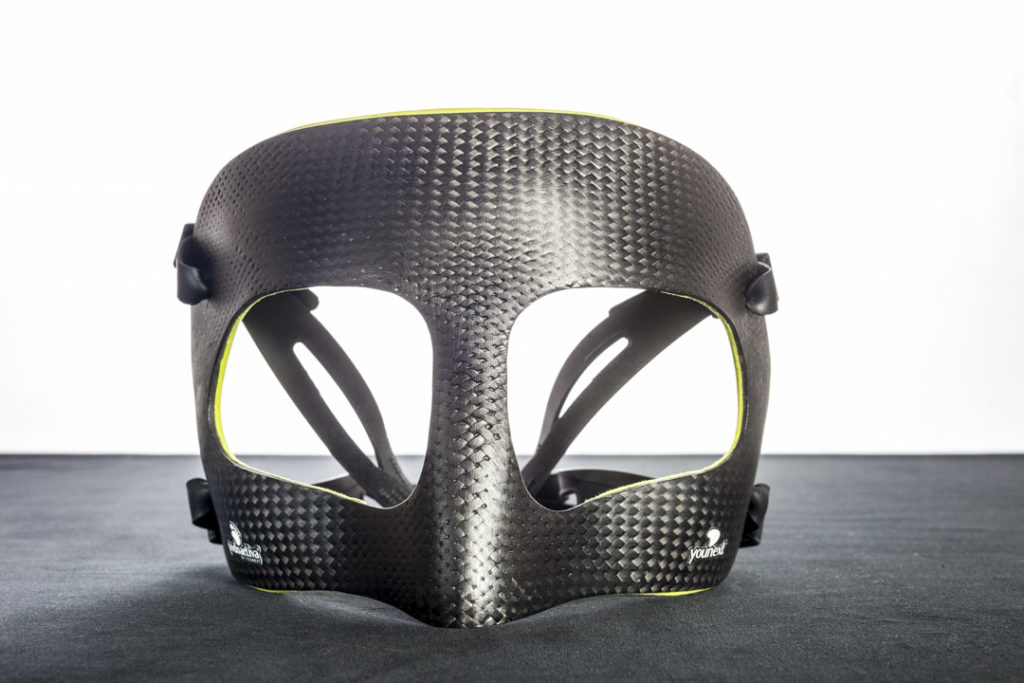 Máscaras personalizadas Younext: Evolución tecnológica